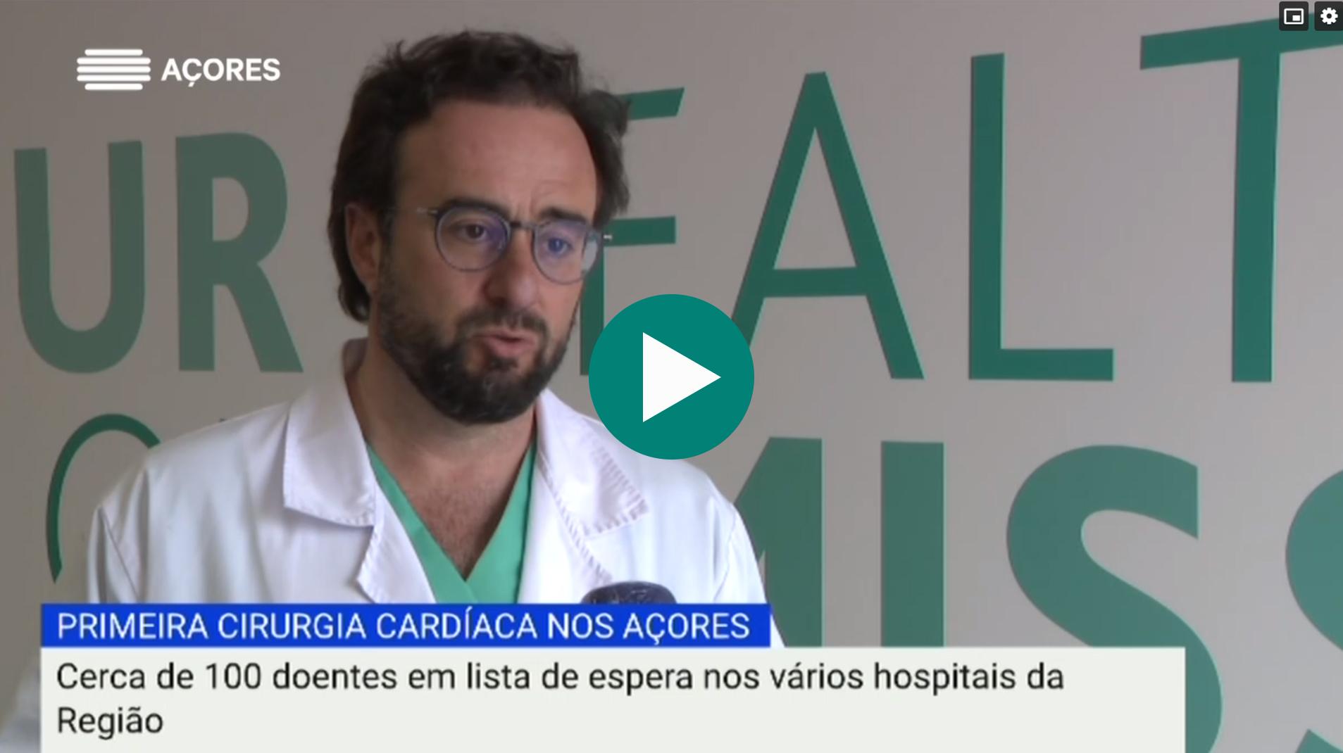 Reportagem Primeira Cirurgia Cardíaca